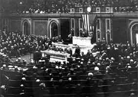 Woodrow Wilson's Speech in Congress: January 8, 1918.